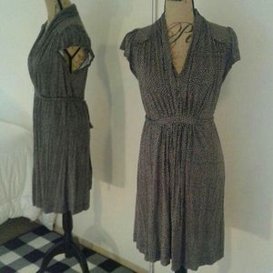French Connection dress size 10 rayon tie-back